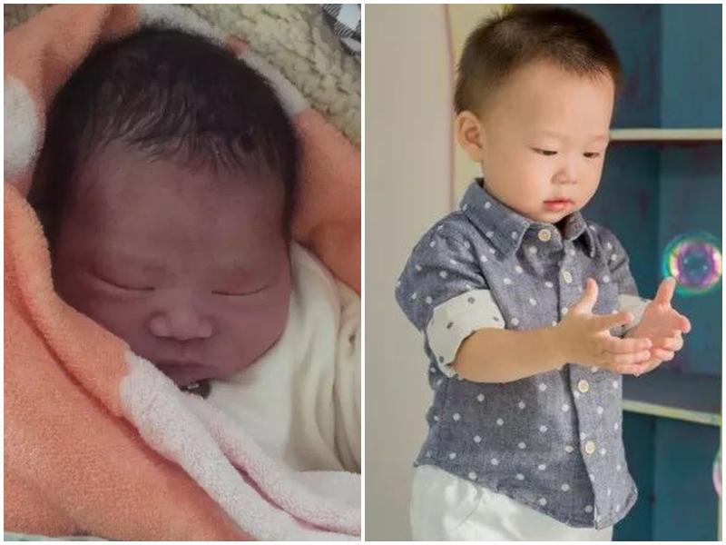 Mẹ củaJiang Zi vô cùng hốt hoảng khi nhìn thấy gương mặt con mới sinh.