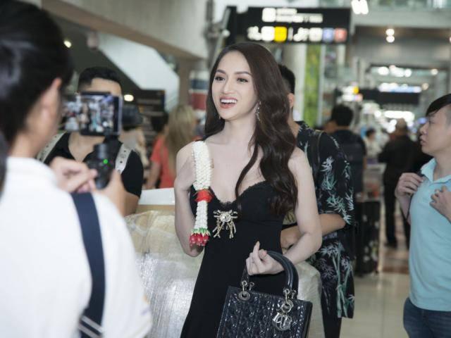 Hương Giang Idol khoe trình tiếng Anh mượt mà ngay khi vừa bước xuống sân bay Bangkok