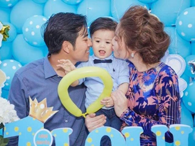 Ngọc Lan - Thanh Bình tổ chức tiệc sinh nhật hoành tráng con trai 1 tuổi