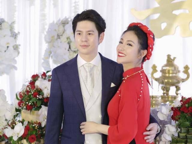 Tiết lộ những hình ảnh hiếm hoi trong lễ đính hôn của Mai Hồ và bạn trai
