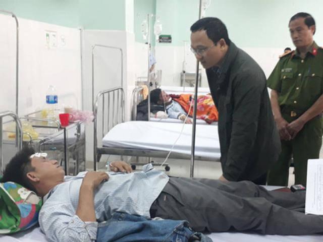 Vụ xe khách lao xuống vực sâu 100 mét ở Kon Tum : Rất nhiều người gào khóc thảm thiết