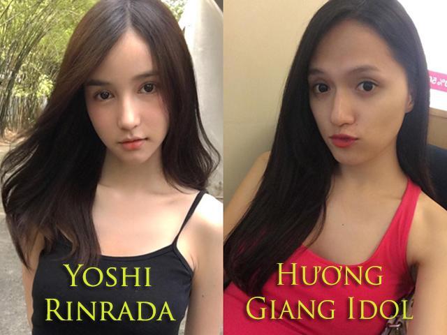 Điều gì xảy ra khi so sánh ảnh mặt mộc của Hương Giang Idol -Thần tiên tỷ tỷ Thái Lan?