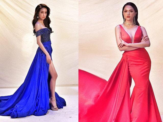 Trang phục dạ hội của Hương Giang Idol được đánh giá đẹp nhất nhì Hoa hậu chuyển giới