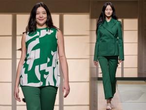 Mẫu ngoại cỡ khuấy đảo sàn diễn của H&M tại Paris Fashion Week 2018