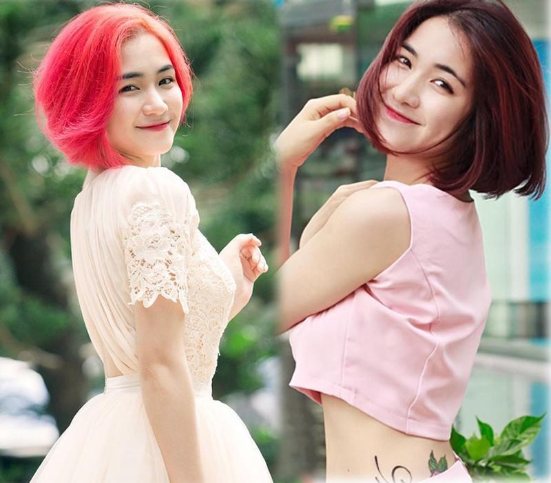 Hòa Minzy từng khiến fan tá hỏa vì dìm sắcvới mái tóc màu... không thể nổi hơn.