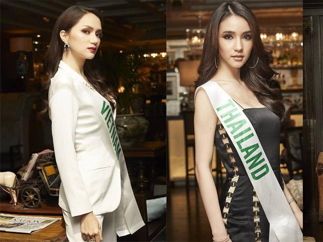 Diện vest thanh lịch, Hương Giang Idol tiếp tục đánh bại nhiều mỹ nhân tại MIQ