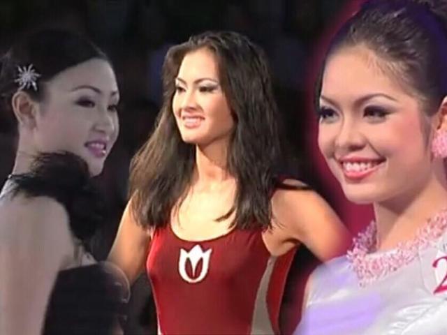 Hàng loạt người đẹp ít ai biết đã từng tham gia chinh chiến tại Hoa hậu Việt Nam 2000