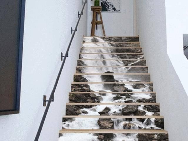 12 thiết kế cầu thang 3D khiến khách đến nhà không thể rời mắt vì quá độc và đẹp