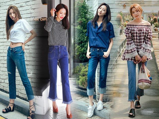 2018 rồi, chị em đừng để mình lạc hậu vì cứ mãi mặc quần jeans ôm bó chịt!