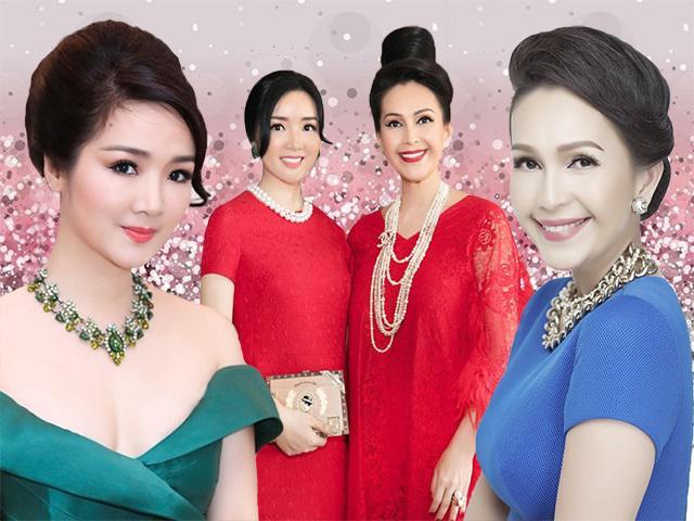 Bất ngờ trước bí quyết giúp người đẹp Diễm My - Giáng Hương xinh đẹp ở U50, 60!