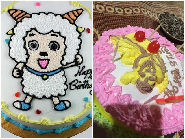 Mẹ đặt bánh sinh nhật hình dê cho con, cả nhà hú hồn khi nhận sản phẩm