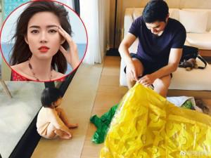 Khoe chồng và con gái khéo như cựu Hoa hậu đẹp nhất Thế giới Trương Tử Lâm