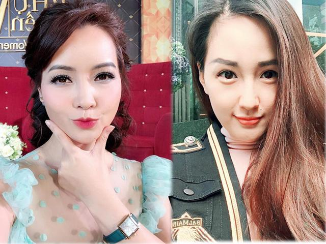 Mai Thu Huyền 39 tuổi vẫn như thiếu nữ, Mai Phương Thúy lạ hoắc  vì lông mày cứng đơ!