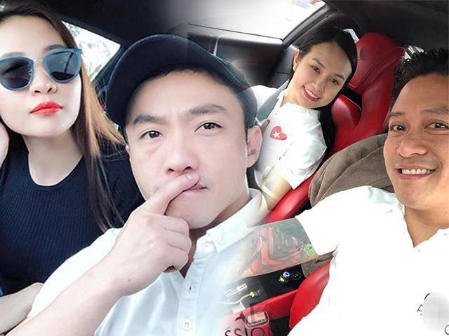Vợ chồng Tuấn Hưng đem siêu xe 16 tỷ hội ngộ cặp đôi Cường Đôla - Đàm Thu Trang