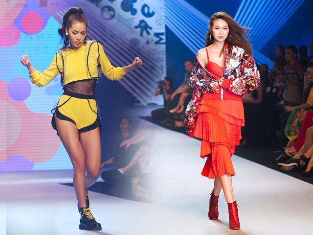 Siêu mẫu Thanh Hằng, Minh Tú cùng nhau đốt cháy sàn diễn Asian Kids Fashion Week