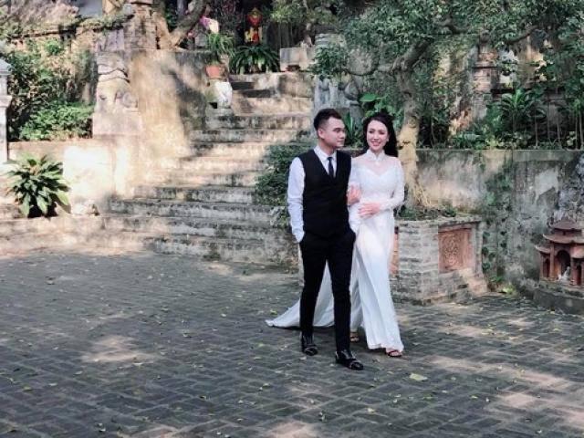 Hé lộ hậu trường chụp ảnh cưới của ca sĩ Khắc Việt và bạn gái DJ