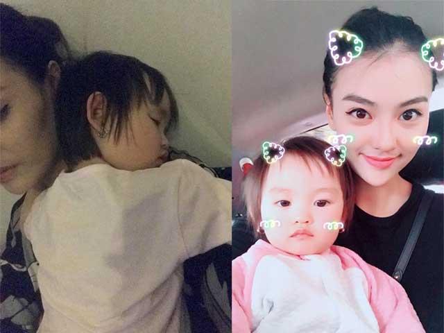 Sao Việt 24h: Mẹ đơn thân Hồng Quế thức trắng đêm trông con ốm