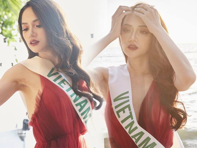 Hương Giang Idol tiếp tục dẫn đầu tại Hoa hậu Chuyển giới Quốc tế 2018.
