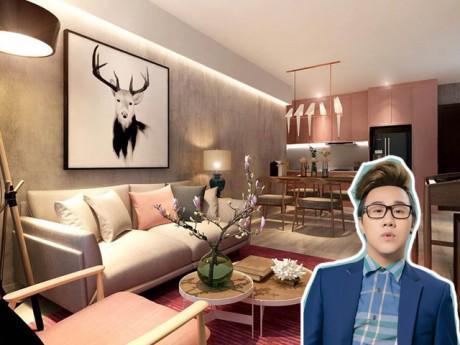 Trung Quân Idol lần đầu hé lộ thiết kế căn hộ thứ hai vô cùng ấm áp, sang trọng