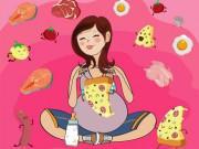 Những loại thực phẩm bà bầu phải tuyệt đối tránh xa