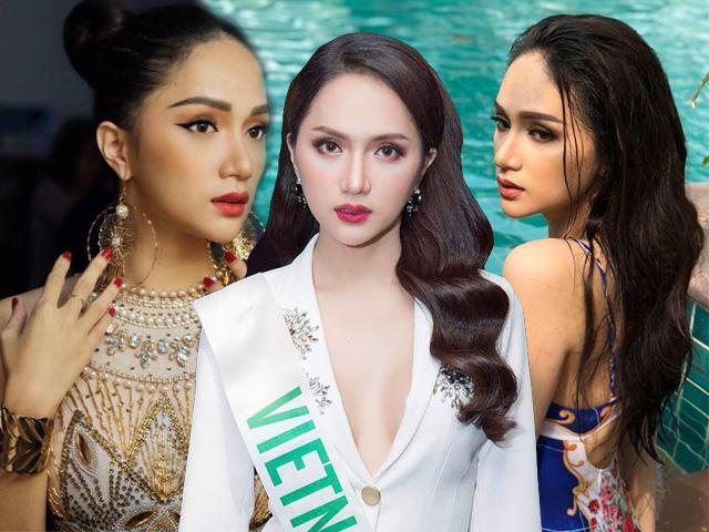 Bí mật đằng sau lớp trang điểm giúp Hương Giang Idol liên tiếp dẫn đầu Hoa hậu chuyển giới