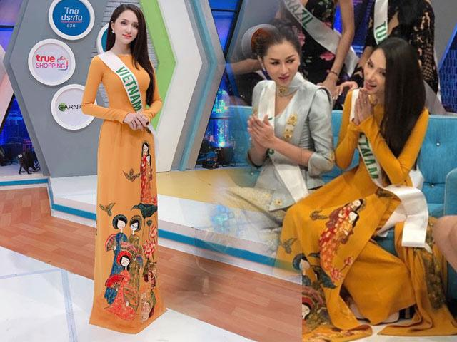 Nghe Hương Giang Idol nói tiếng Anh trên truyền hình Thái Lan, người hâm mộ lại được dịp nức lòng!