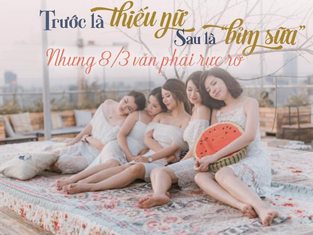 Gặp những chị mẹ Bắc Ninh: Trước là thiếu nữ, sau là bỉm sữa nhưng 8/3 vẫn phải rực rỡ