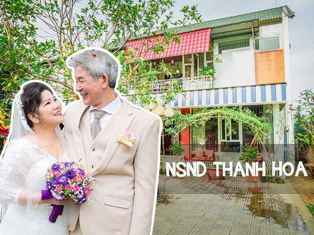 Thăm cõi mộng mơ vui hưởng tuổi già của NSND Thanh Hoa và chồng sau đám cưới ở tuổi 68
