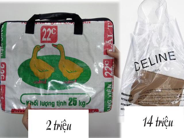 Khách bỏ tiền triệu ra mua đồ như... bao tải, túi nilon: Đây đúng là đẳng cấp hàng hiệu!