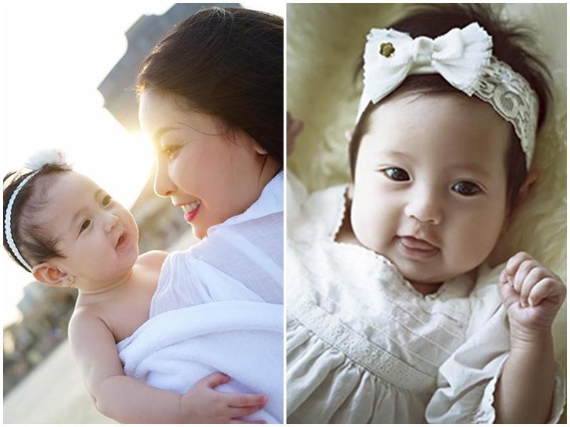 Chào đời vào tháng 10/2015, hiện tại con gái HH Hà Kiều Anh đã được hơn 2 tuổi.