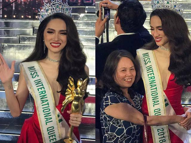 Độc quyền: Mẹ Hoa hậu Chuyển giới Quốc tế Hương Giang hãnh diện vì con có nỗ lực hơn người