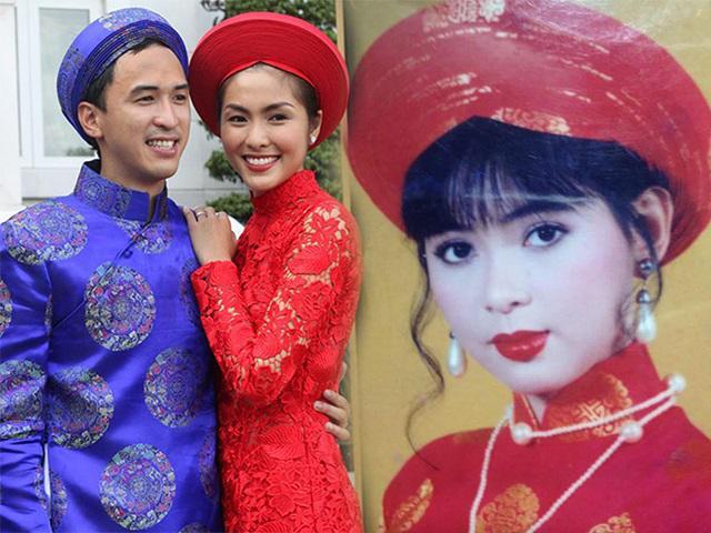 So sánh ảnh cưới Tăng Thanh Hà và mẹ chồng, dân tình ngỡ ngàng nhận ra điểm trùng hợp!