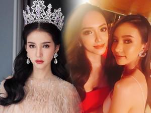 Hương Giang xuất sắc giành vương miện, Hoa hậu Chuyển giới Thái Lan chia sẻ điều gì?