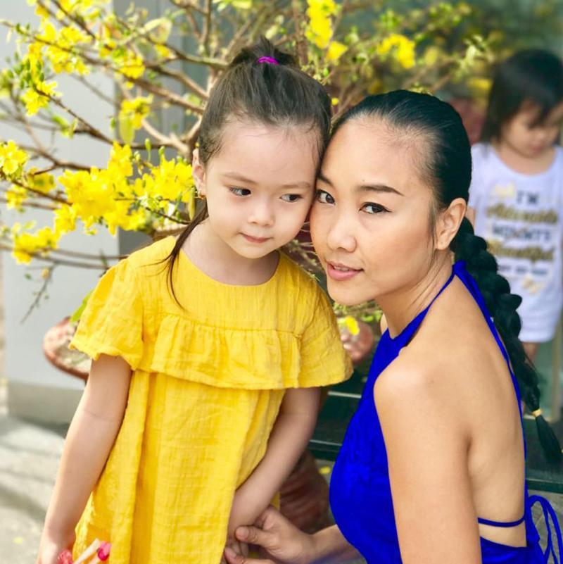 Bé Sol, con gái ca sĩ Đoan Trang là nhóc tỳ nổi tiếng trong giới showbiz Việt.