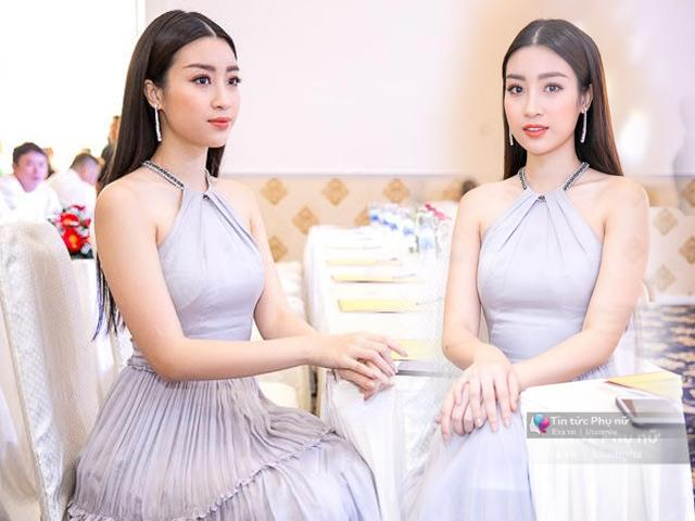 Chỉ cần diện váy pastel nền nã, Hoa hậu Đỗ Mỹ Linh đã cực kỳ xinh đẹp và nổi bật