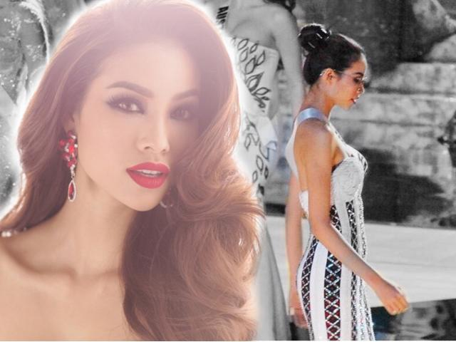 Đây chính là chiếc đầm dạ hội gây tiếc nuối nhất của Phạm Hương tại Miss Universe