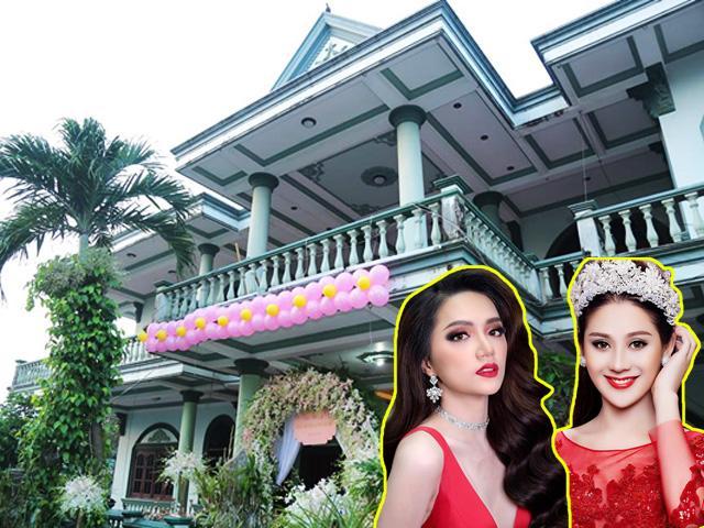Nhà khủng của Hoa hậu Hương Giang và công chúa Lâm Khánh Chi: Ai hơn ai?