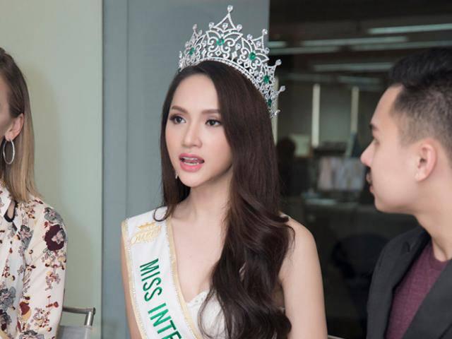 Bị hỏi Người chuyển giới dù đẹp cũng không phải là con gái?, Hương Giang đáp lại cực sắc sảo