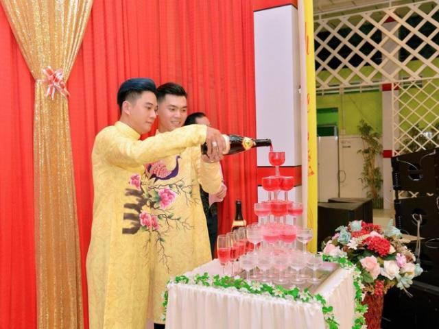 Cặp đôi đồng tính nam điển trai kết hôn với đám cưới đẹp như mơ ở Đồng Tháp