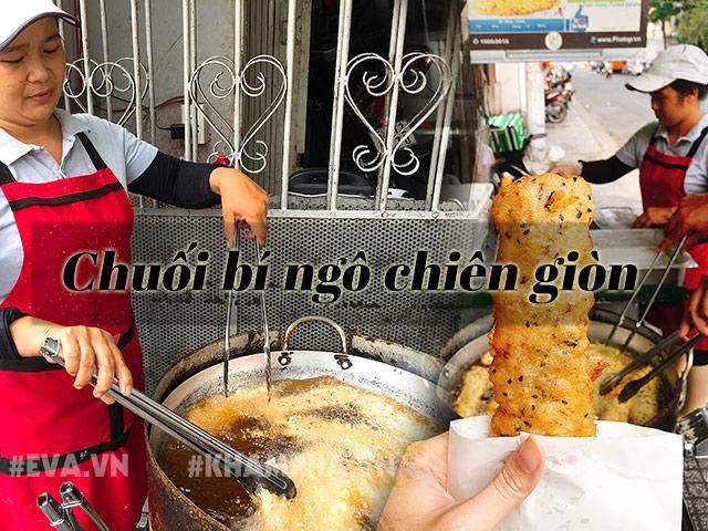 Chỉ bán mỗi chuối bí ngô mật ong chiên giòn, quán vỉa hè Sài Gòn tiêu thụ 400 quả chuối/ngày