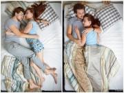 Eva tám - Tiết lộ tình cảm vợ chồng qua tư thế ngủ