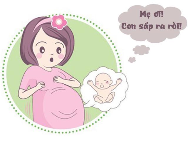 Dấu hiệu sắp sinh trước một tuần, mẹ đang mang bầu tháng cuối phải nằm lòng
