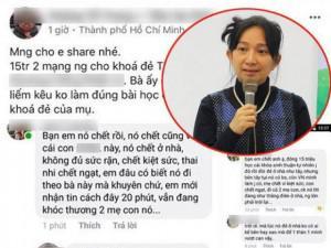 Người thân của Lê Nhất Phương Hồng - người kêu gọi sinh thuận tự nhiên lên tiếng