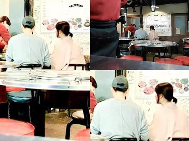 Đưa Song Hye Kyo đi ăn tối, Song Joong Ki vừa gắp vừa đút thức ăn cho vợ