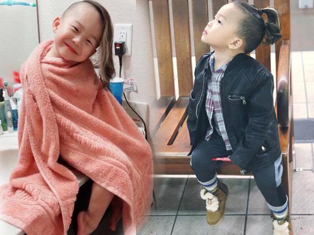 Cậu bé tóc mây gây xôn xao MXH: Mạnh mẽ, thích bụi bặm nhưng lại yếu lòng trước mẹ
