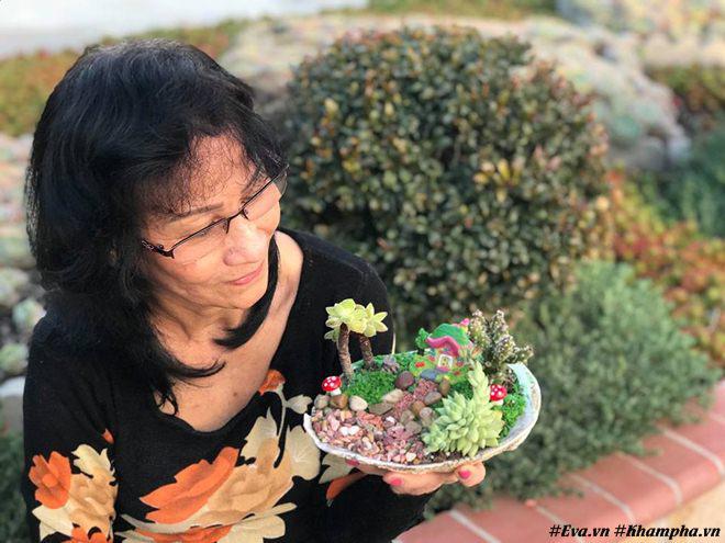 Vườn hoa sen đá hàng nghìn cây đáng ngưỡng mộ của mẹ Việt sau 7 năm trồng hoa xứ người - 8