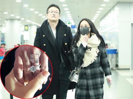 """Không ngờ """"hồ ly giật chồng"""" bị ghét nhất Cbiz vừa được đại gia cầu hôn bằng nhẫn kim cương"""