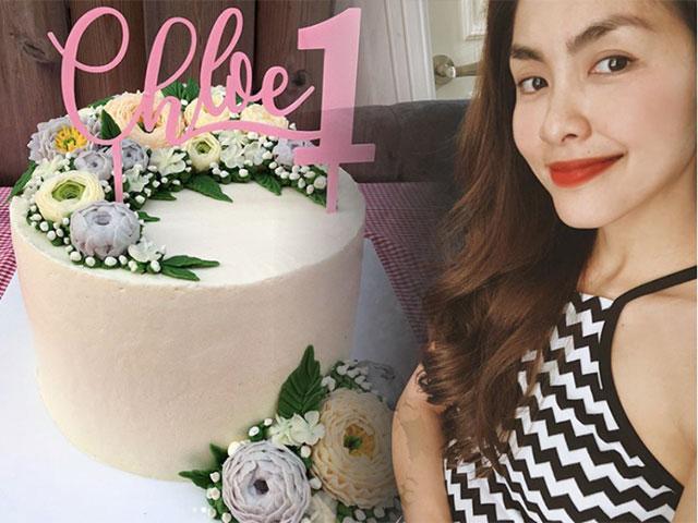 Món quà đặc biệt tự tay Tăng Thanh Hà làm tặng con gái dịp sinh nhật 1 tuổi