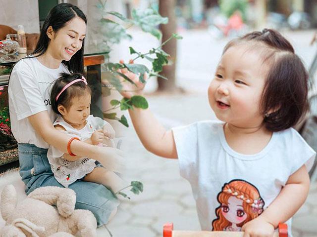 Bà xã Tuấn Hưng dành lời yêu thương cho con gái nhân dịp sinh nhật