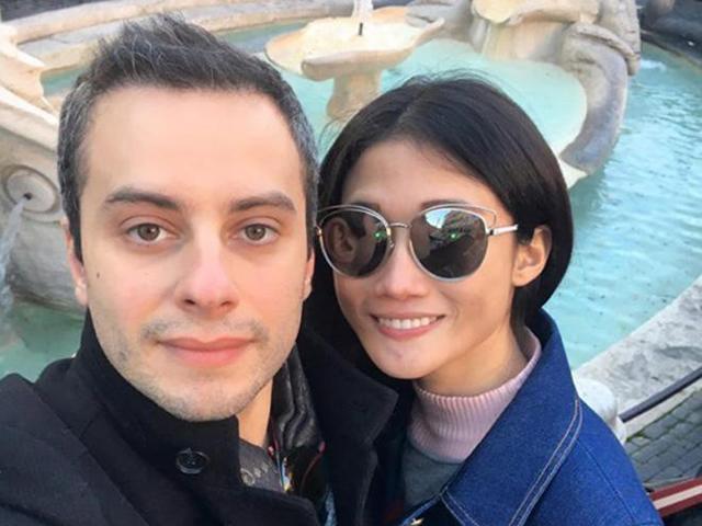 Sau 5 tháng kết hôn, Kha Mỹ Vân khoe đang mang thai con đầu lòng với ông xã người Italy